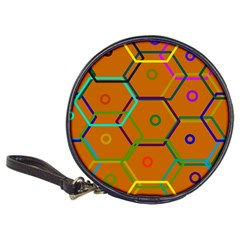 Color Bee Hive Color Bee Hive Pattern Classic 20-CD Wallets