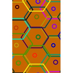 Color Bee Hive Color Bee Hive Pattern 5.5  x 8.5  Notebooks