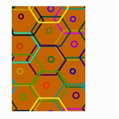 Color Bee Hive Color Bee Hive Pattern Large Garden Flag (two Sides)