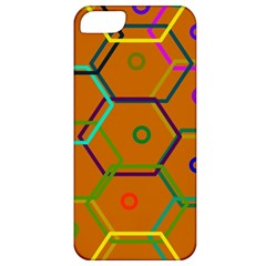 Color Bee Hive Color Bee Hive Pattern Apple iPhone 5 Classic Hardshell Case