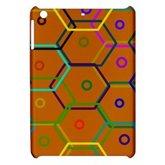 Color Bee Hive Color Bee Hive Pattern Apple Ipad Mini Hardshell Case