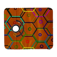 Color Bee Hive Color Bee Hive Pattern Galaxy S3 (Flip/Folio)
