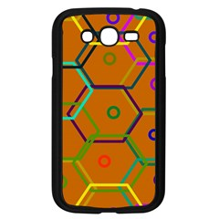 Color Bee Hive Color Bee Hive Pattern Samsung Galaxy Grand DUOS I9082 Case (Black)