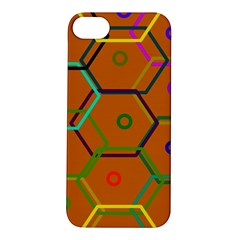 Color Bee Hive Color Bee Hive Pattern Apple Iphone 5s/ Se Hardshell Case