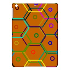 Color Bee Hive Color Bee Hive Pattern Ipad Air Hardshell Cases