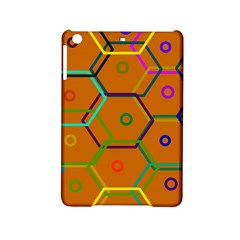 Color Bee Hive Color Bee Hive Pattern Ipad Mini 2 Hardshell Cases