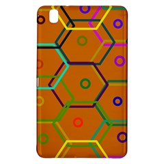 Color Bee Hive Color Bee Hive Pattern Samsung Galaxy Tab Pro 8 4 Hardshell Case