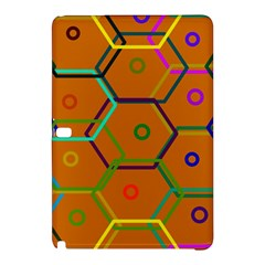 Color Bee Hive Color Bee Hive Pattern Samsung Galaxy Tab Pro 12 2 Hardshell Case