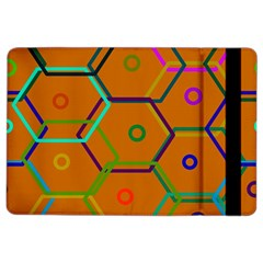 Color Bee Hive Color Bee Hive Pattern Ipad Air 2 Flip