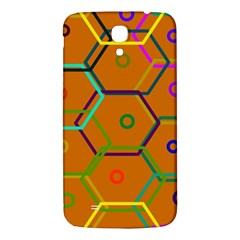 Color Bee Hive Color Bee Hive Pattern Samsung Galaxy Mega I9200 Hardshell Back Case