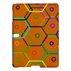 Color Bee Hive Color Bee Hive Pattern Samsung Galaxy Tab S (10.5 ) Hardshell Case