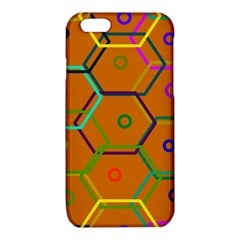 Color Bee Hive Color Bee Hive Pattern iPhone 6/6S TPU Case