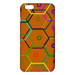 Color Bee Hive Color Bee Hive Pattern Iphone 6 Plus/6s Plus Tpu Case