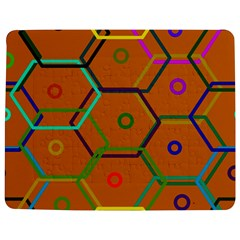 Color Bee Hive Color Bee Hive Pattern Jigsaw Puzzle Photo Stand (rectangular)