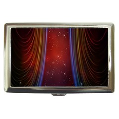 Bright Background With Stars And Air Curtains Cigarette Money Cases