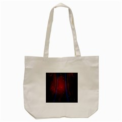 Bright Background With Stars And Air Curtains Tote Bag (cream)