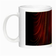 Bright Background With Stars And Air Curtains Night Luminous Mugs