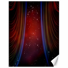 Bright Background With Stars And Air Curtains Canvas 18  X 24