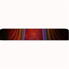 Bright Background With Stars And Air Curtains Small Bar Mats