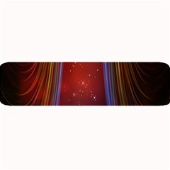 Bright Background With Stars And Air Curtains Large Bar Mats