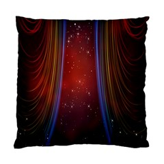Bright Background With Stars And Air Curtains Standard Cushion Case (One Side)