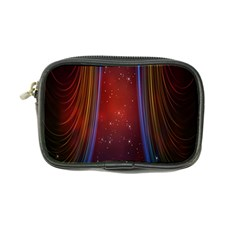 Bright Background With Stars And Air Curtains Coin Purse