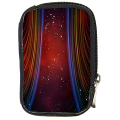 Bright Background With Stars And Air Curtains Compact Camera Cases