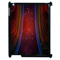 Bright Background With Stars And Air Curtains Apple iPad 2 Case (Black)