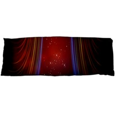 Bright Background With Stars And Air Curtains Body Pillow Case (dakimakura)