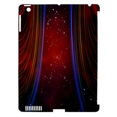 Bright Background With Stars And Air Curtains Apple iPad 3/4 Hardshell Case (Compatible with Smart Cover)