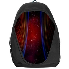 Bright Background With Stars And Air Curtains Backpack Bag