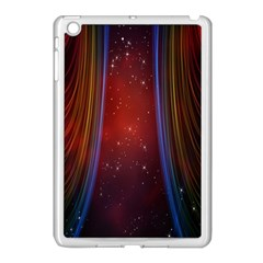 Bright Background With Stars And Air Curtains Apple iPad Mini Case (White)