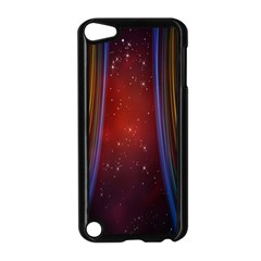 Bright Background With Stars And Air Curtains Apple iPod Touch 5 Case (Black)
