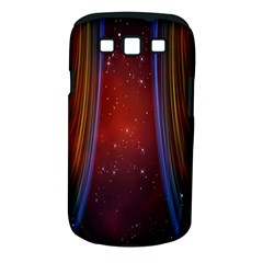 Bright Background With Stars And Air Curtains Samsung Galaxy S Iii Classic Hardshell Case (pc+silicone)