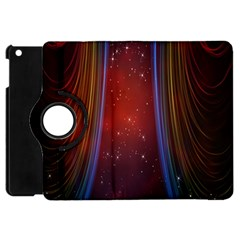 Bright Background With Stars And Air Curtains Apple Ipad Mini Flip 360 Case