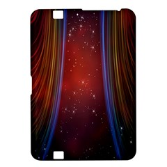 Bright Background With Stars And Air Curtains Kindle Fire HD 8.9