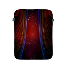 Bright Background With Stars And Air Curtains Apple iPad 2/3/4 Protective Soft Cases