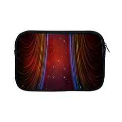 Bright Background With Stars And Air Curtains Apple iPad Mini Zipper Cases