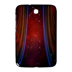 Bright Background With Stars And Air Curtains Samsung Galaxy Note 8 0 N5100 Hardshell Case