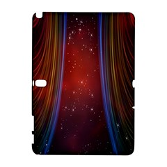 Bright Background With Stars And Air Curtains Galaxy Note 1