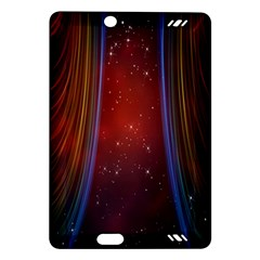 Bright Background With Stars And Air Curtains Amazon Kindle Fire Hd (2013) Hardshell Case
