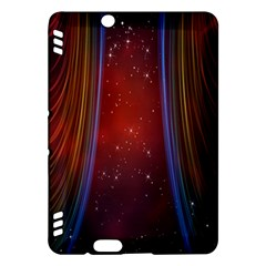 Bright Background With Stars And Air Curtains Kindle Fire Hdx Hardshell Case