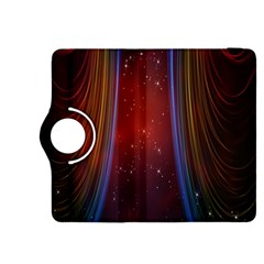 Bright Background With Stars And Air Curtains Kindle Fire HDX 8.9  Flip 360 Case