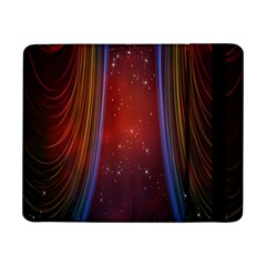 Bright Background With Stars And Air Curtains Samsung Galaxy Tab Pro 8 4  Flip Case