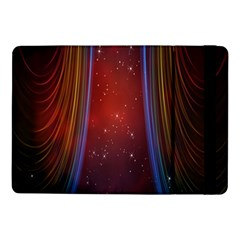 Bright Background With Stars And Air Curtains Samsung Galaxy Tab Pro 10 1  Flip Case