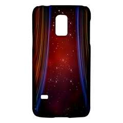 Bright Background With Stars And Air Curtains Galaxy S5 Mini