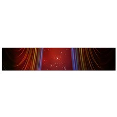 Bright Background With Stars And Air Curtains Flano Scarf (small)