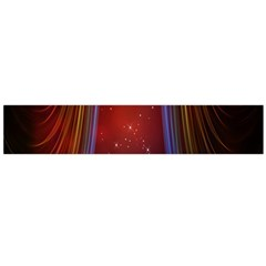 Bright Background With Stars And Air Curtains Flano Scarf (Large)