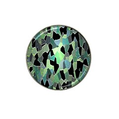 Wallpaper Background With Lighted Pattern Hat Clip Ball Marker
