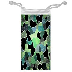 Wallpaper Background With Lighted Pattern Jewelry Bag